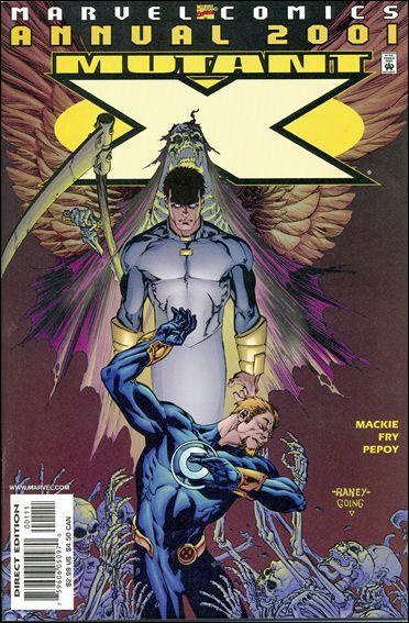Couverture de Mutant X (1998) -INT- 2001 annual : the key
