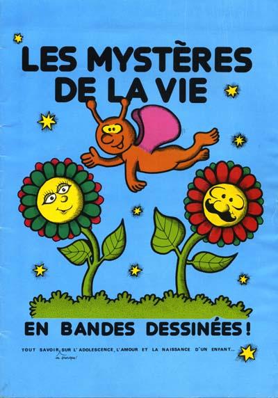 Couverture de Les mystères de la vie - Les mystères de la vie en bandes dessinées!