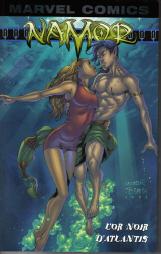Couverture de Namor (Marvel Mini Monster) -1- L'or noir d'Atlantis