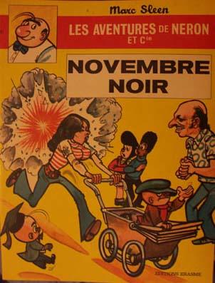 Couverture de Néron et Cie (Les Aventures de) (Érasme) -32- Novembre Noir