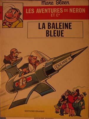 Couverture de Néron et Cie (Les Aventures de) (Érasme) -51- La Baleine Bleue