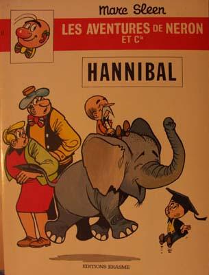 Couverture de Néron et Cie (Les Aventures de) (Érasme) -57- Hannibal