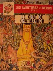 Couverture de Néron et Cie (Les Aventures de) (Érasme) -59- Le Chat de Chatmandou