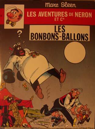 Couverture de Néron et Cie (Les Aventures de) (Érasme) -63- Les Bonbons-Ballons