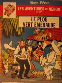 Couverture de Néron et Cie (Les Aventures de) (Érasme) -64- Le Plou Vert Emeraude