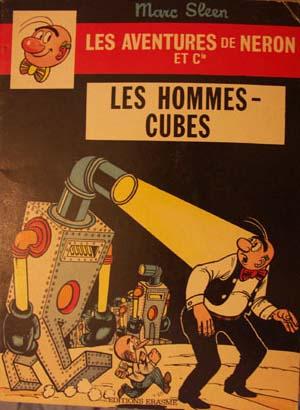 Couverture de Néron et Cie (Les Aventures de) (Érasme) -71- Les Hommes-cubes