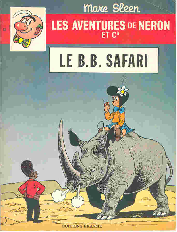 Couverture de Néron et Cie (Les Aventures de) (Érasme) -68- Le B.B. safari