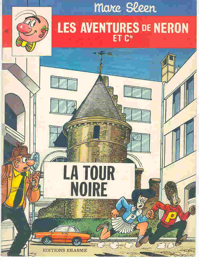 Couverture de Néron et Cie (Les Aventures de) (Érasme) -84- La tour noire