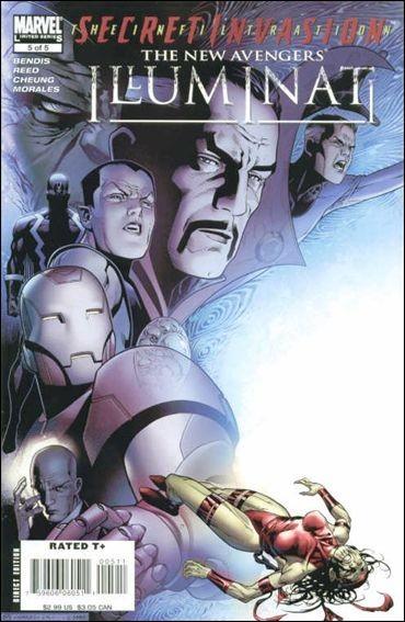 Couverture de New Avengers: Illuminati (2007) -5- Illuminati part 5