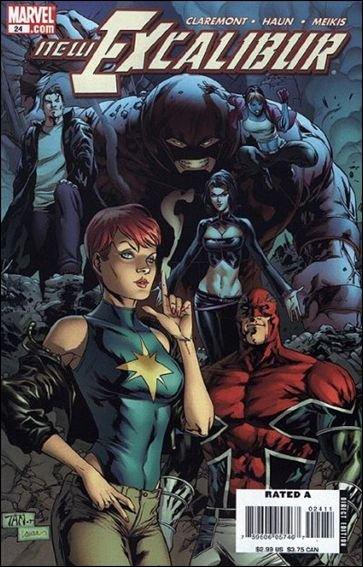 Couverture de New Excalibur (2006) -24- Two captains, one destiny