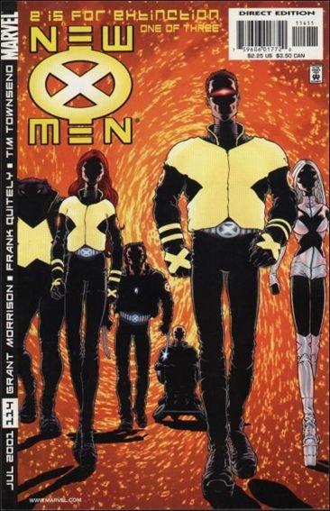 Couverture de New X-Men (2001) -114- E for extinction part 1