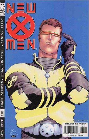 Couverture de New X-Men (2001) -118- Germ free generation part 1