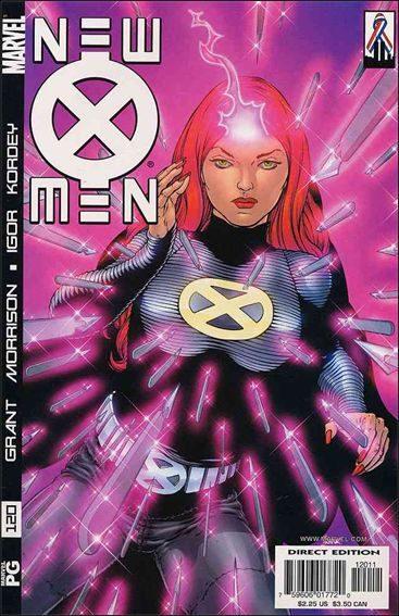 Couverture de New X-Men (2001) -120- Germ free generation part 3