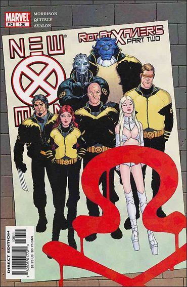 Couverture de New X-Men (2001) -136- Riot at xavier's part 2 : when x is not x