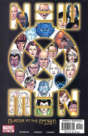 Couverture de New X-Men (2001) -140- Murder at the mansion part 2