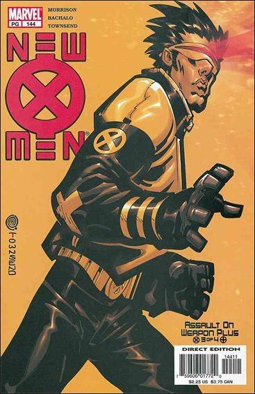 Couverture de New X-Men (2001) -144- Assault on weapon plus part 3 : the flesh