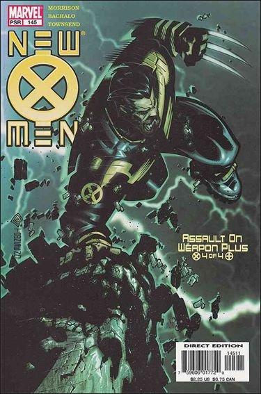 Couverture de New X-Men (2001) -145- Assault on weapon plus part 4 : the devil