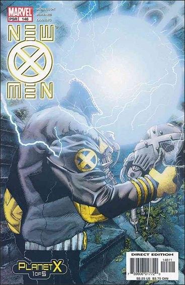 Couverture de New X-Men (2001) -146- Planet x part 1