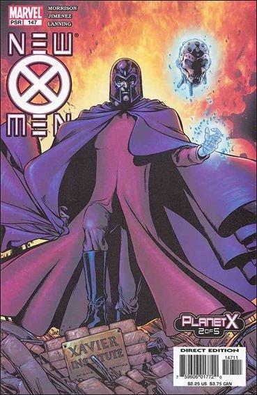 Couverture de New X-Men (2001) -147- Planet x part 2