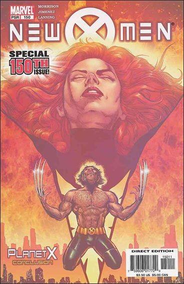 Couverture de New X-Men (2001) -150- Planet x part 5 : phoenix invictus