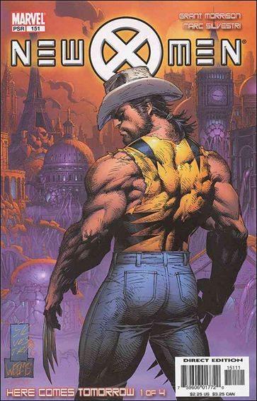 Couverture de New X-Men (2001) -151- Here comes tomorrow part 1