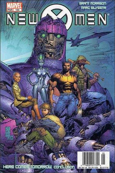 Couverture de New X-Men (2001) -154- Here comes tomorrow part 4 : rescue and emergency