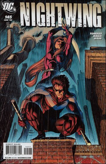 Couverture de Nightwing Vol. 2 (1996) -145- Freefall, chapter six