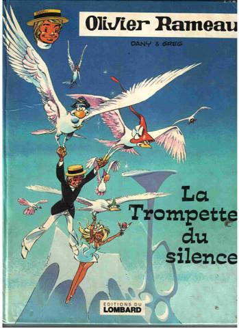 Couverture de Olivier Rameau -8- La trompette du silence