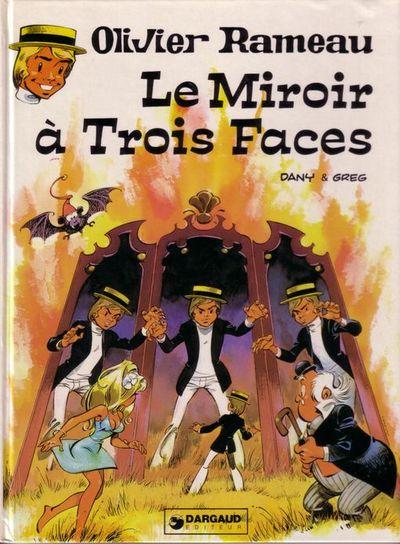 Couverture de Olivier Rameau -7- Le miroir à trois faces