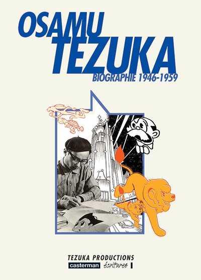 Couverture de Osamu Tezuka - Biographie -2- 1946-1959