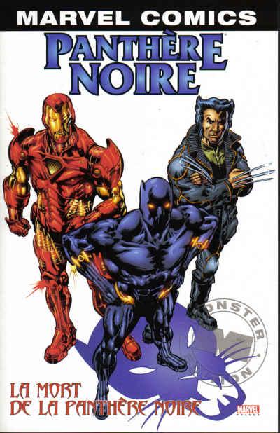 Couverture de Panthère Noire (Marvel Monster) -3- La mort de la panthère noire