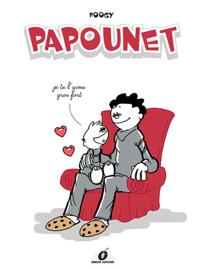 Couverture de Papounet - Tome 1