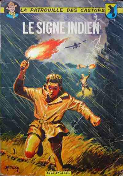 Couverture de La patrouille des Castors -10- Le signe indien