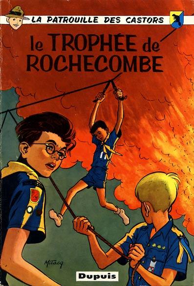 Couverture de La patrouille des Castors -6- Le Trophée de Rochecombe