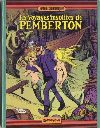 Couverture de Pemberton -1- Les voyages insolites de Pemberton