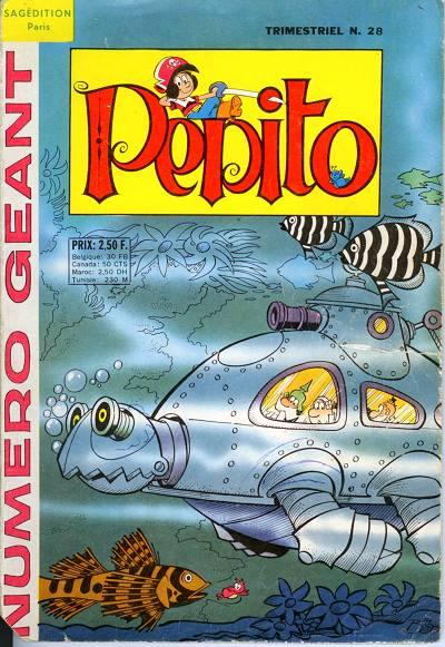 Couverture de Pepito (3e Série - SAGE) (Numéro Géant) -28- Pepito