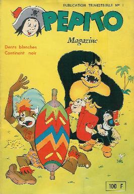 Couverture de Pepito Magazine (1re série SAGE - GF)  -1- Dents blanches, continent noir