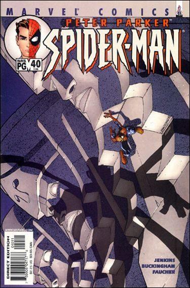 Couverture de Peter Parker: Spider-Man (1999) -40- Codename : john hancock