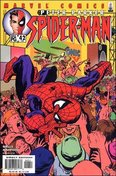 Couverture de Peter Parker: Spider-Man (1999) -42- Fifteen minutes of shame part 1