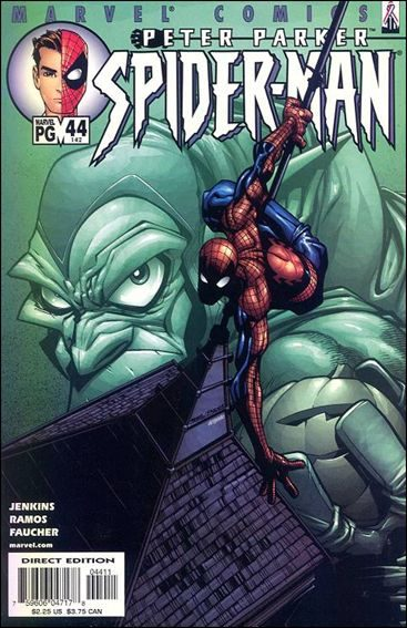 Couverture de Peter Parker: Spider-Man (1999) -44- A death in the family part 1