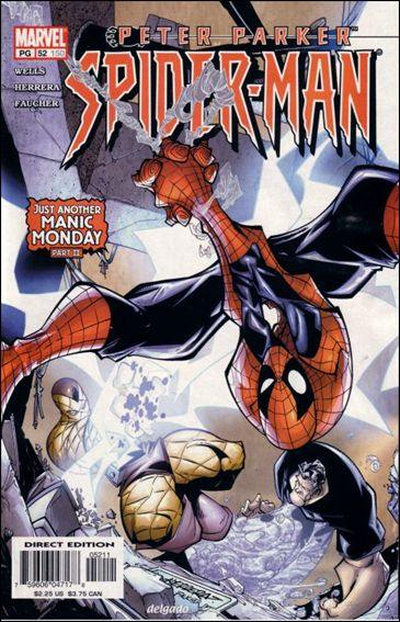 Couverture de Peter Parker: Spider-Man (1999) -52- Just another manic monday part 2