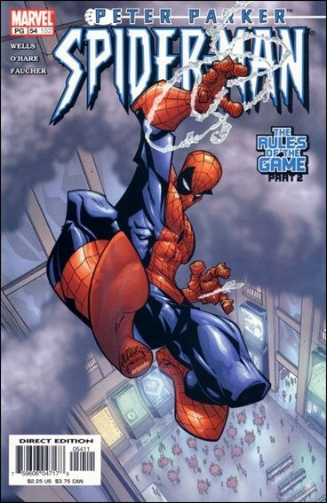 Couverture de Peter Parker: Spider-Man (1999) -54- The rules of the game part 2