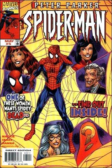 Couverture de Peter Parker: Spider-Man (1999) -5- The trouble with girls