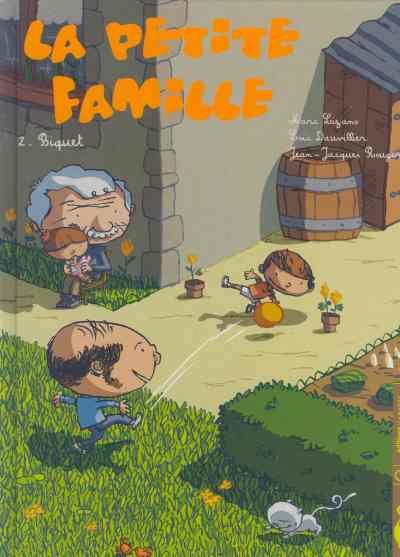 Couverture de La petite famille -2- Biquet