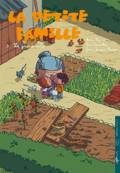Couverture de La petite famille -3- Le grand ours