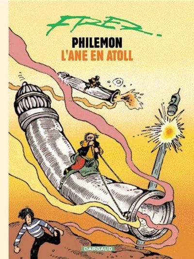 Couverture de Philémon (Nouvelle édition) -10c- L'âne en atoll