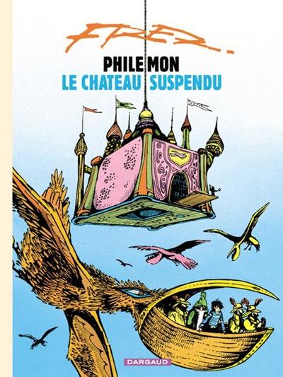 Couverture de Philémon (Nouvelle édition) -4c- Le château suspendu