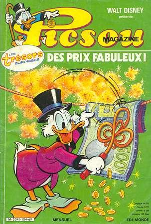 Couverture de Picsou Magazine -104- Picsou Magazine N°104