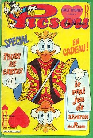 Couverture de Picsou Magazine -110- Picsou Magazine N°110