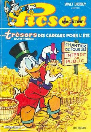 Couverture de Picsou Magazine -112- Picsou Magazine N°112